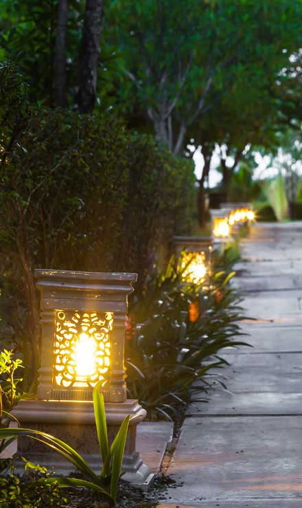 Nunez Lawn Care & Landscaping, Inc. Residential Landscape Lighting